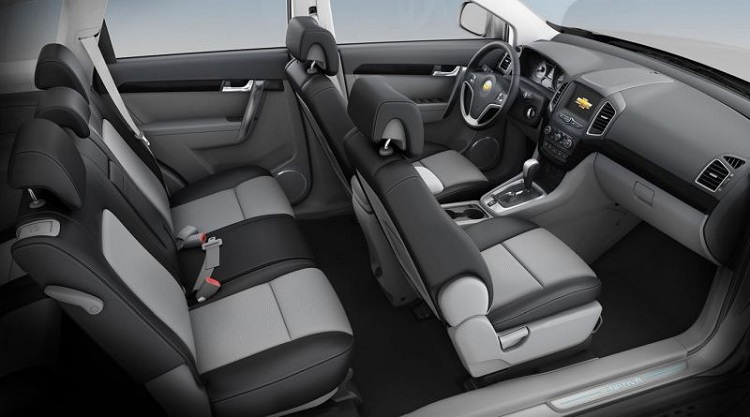 2018 Chevrolet Captiva interior