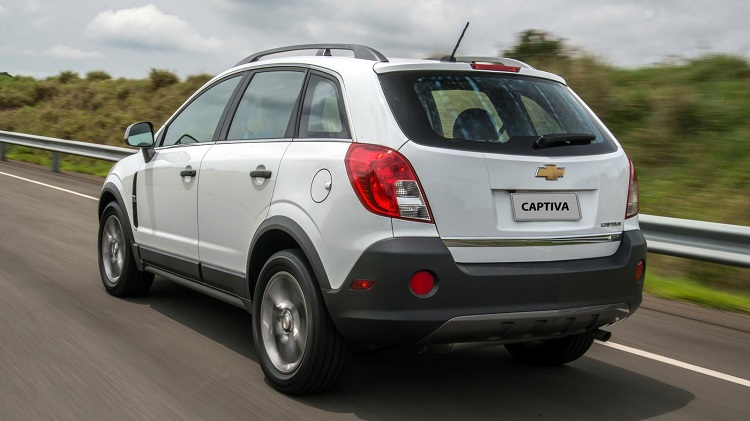 2018 Chevrolet Captiva rear view