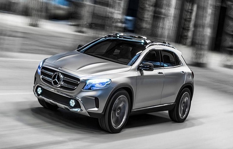2018 Mercedes GLB front view