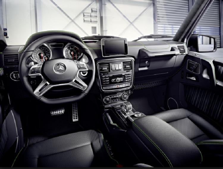 2018 Mercedes GLB interior