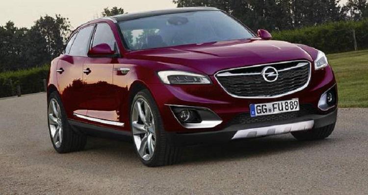 2018 Opel Antara front view