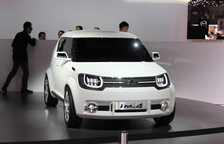 2018 Suzuki iM-4 front view