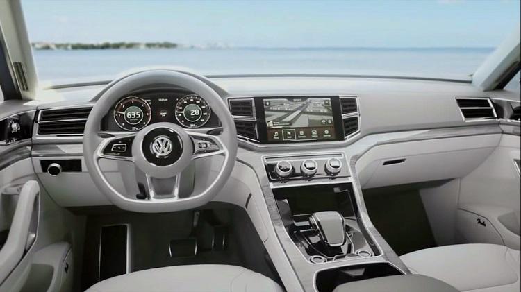2018 VW Teramont interior