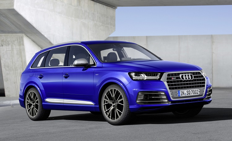 2018 Audi SQ7 front view