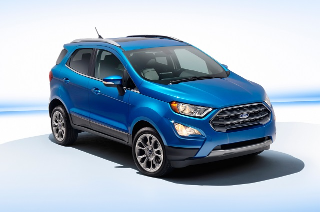 2018 Ford Ecosport front view