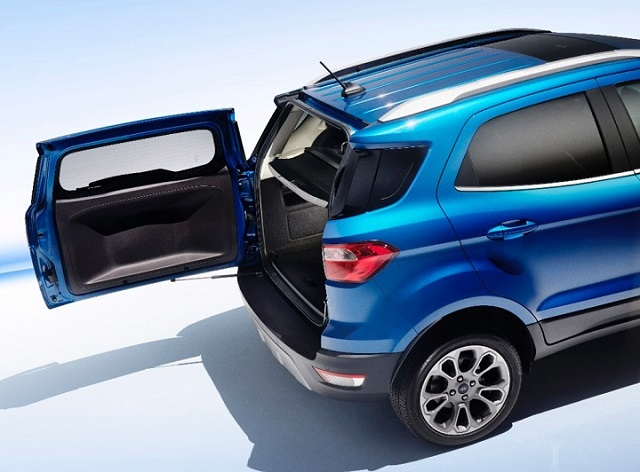 2018 Ford Ecosport rear view