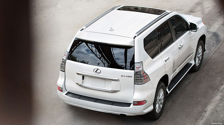 2018 Lexus GX rear view