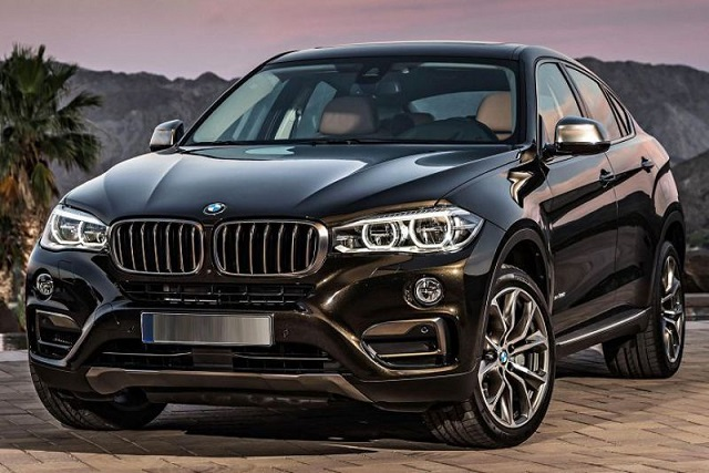 2018 BMW X6 front view