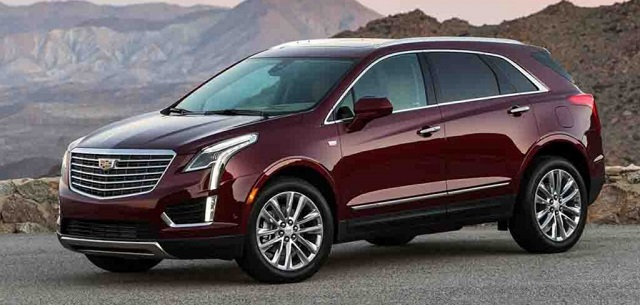2018 Cadillac XT5 side view
