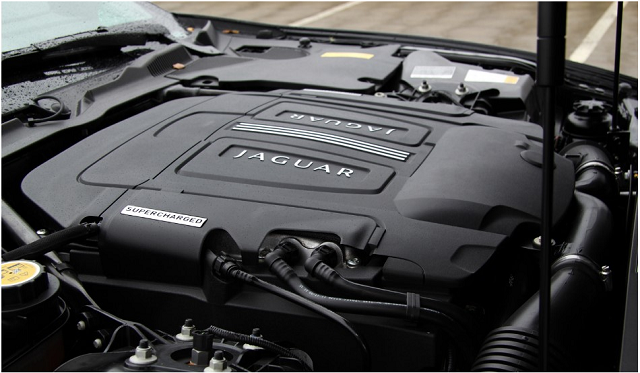2018 Jaguar XQ engine