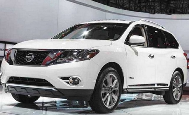 2018 Nissan Pathfinder front view