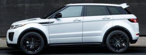 2018 Range Rover Evoque side view