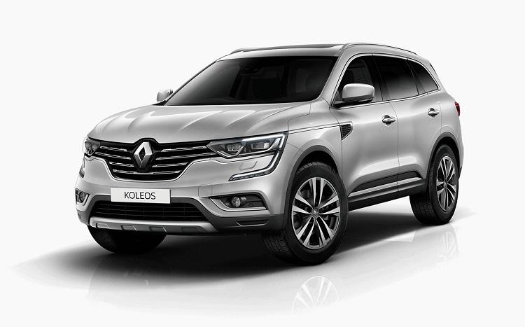 2018 Renault Koleos front view
