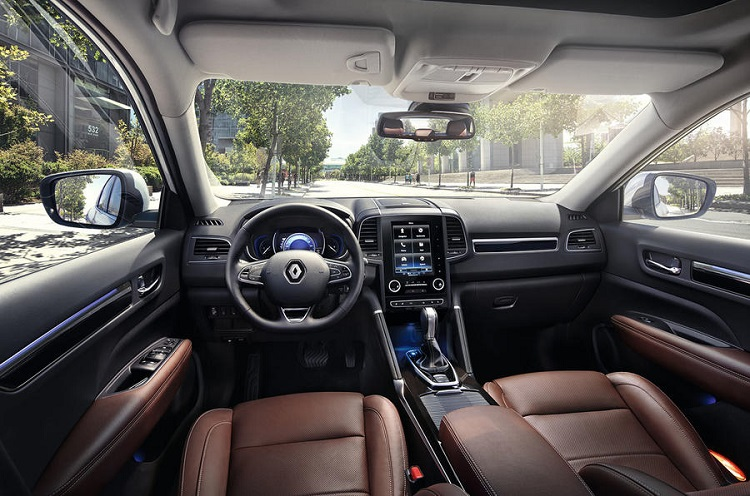 2018 Renault Koleos interior
