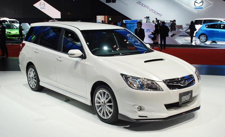 2018 Subaru Exiga front view