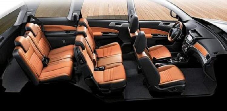2018 Subaru Exiga interior