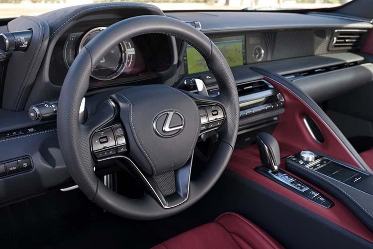 2018 Lexus TX interior