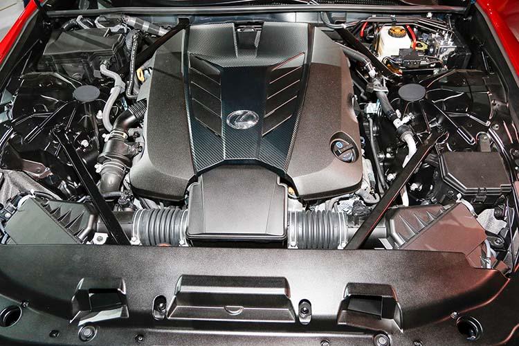 2018 Lexus TX engine
