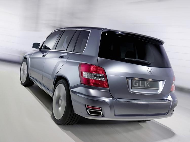 2018 Mercedes GLK rear