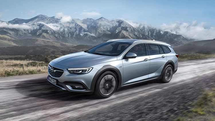 2018 Opel Insignia SUV front