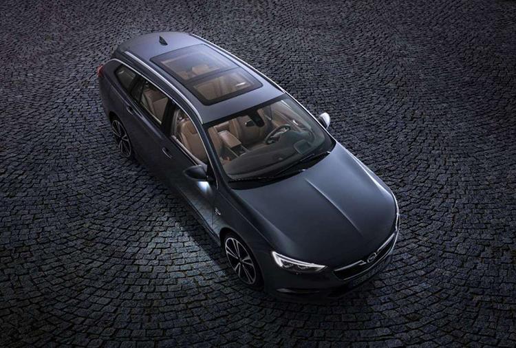 2018 Opel Insignia SUV top