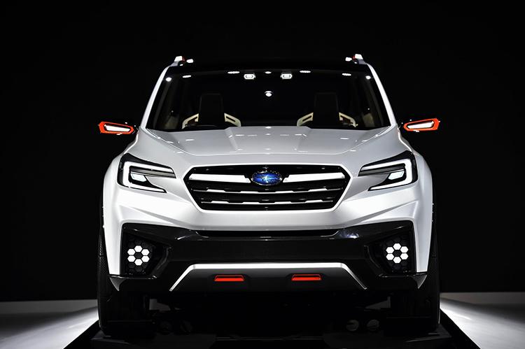 2018 Subaru Tribeca front