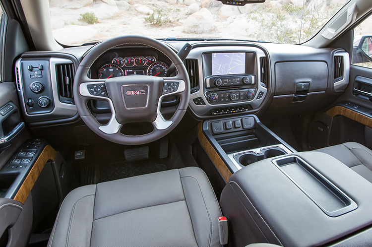2018 GMC Yukon XL interior