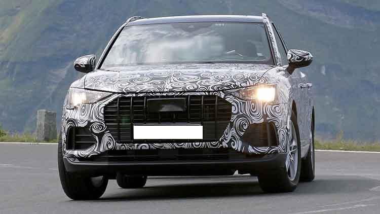 2019 Audi Q3 spied