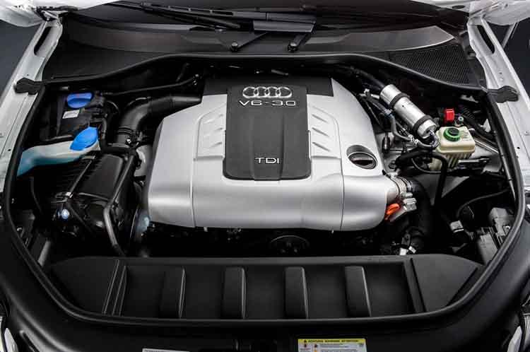 2019 Audi Q7 engine
