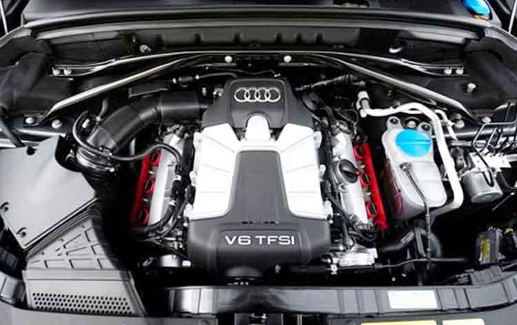 2019 Audi SQ5 drivetrain