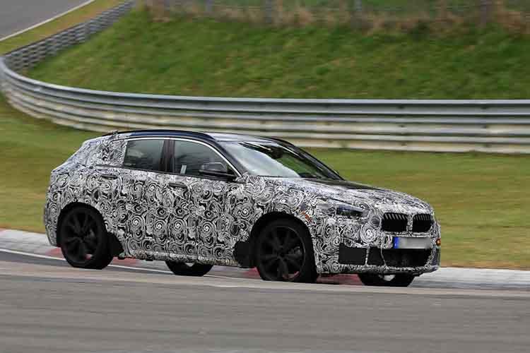 2019 BMW X1 spied