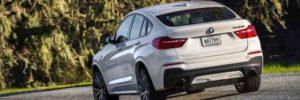 2019 BMW X4 rear