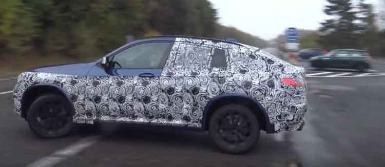 2019 BMW X4 spy shot