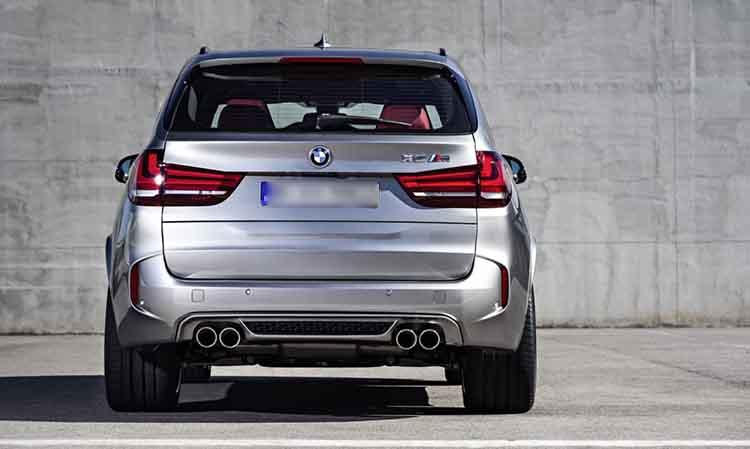 2019 BMW X5M rear