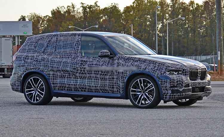 2019 BMW X5M spied
