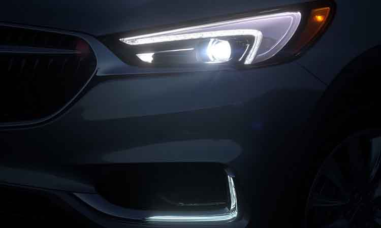 2019 Buick Enclave LED light