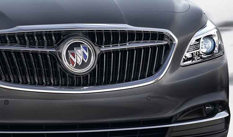 2019 Buick small electric SUV grille