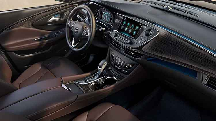 2019 Buick small electric SUV interior