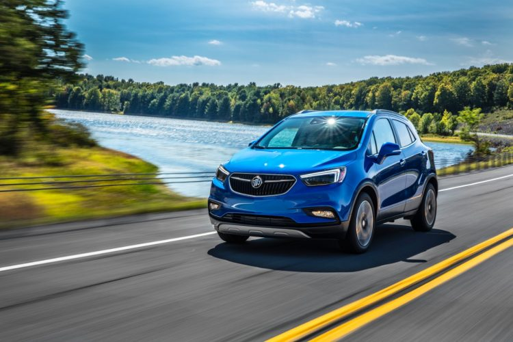 2019 Buick small electric SUV