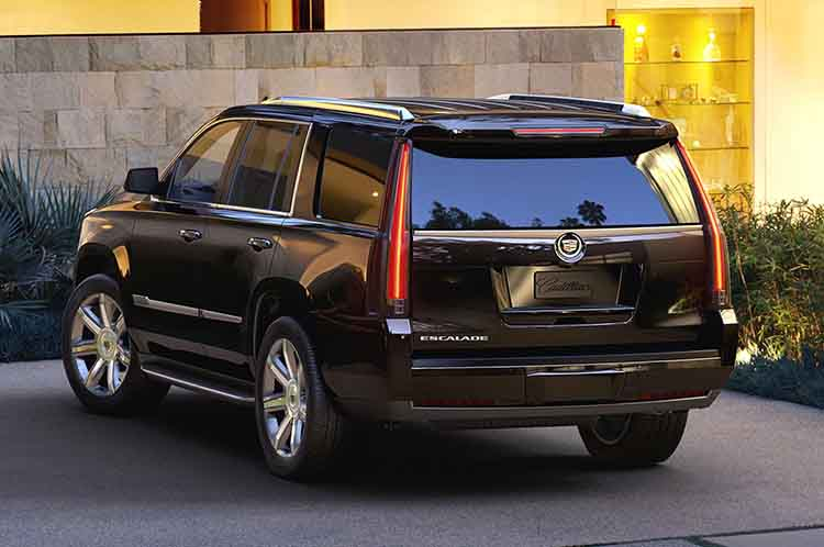 2019 Cadillac Escalade rear