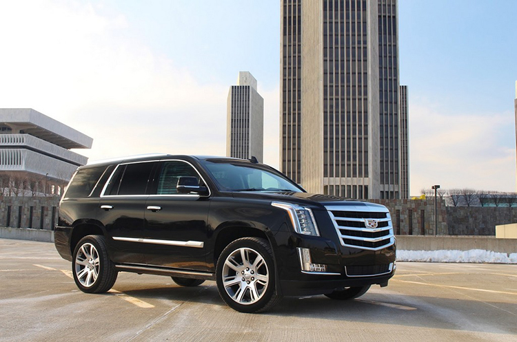 2019 Cadillac Escalade side