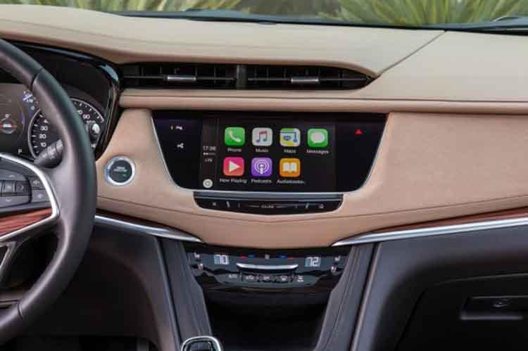 2019 Cadillac XT5 infotainment