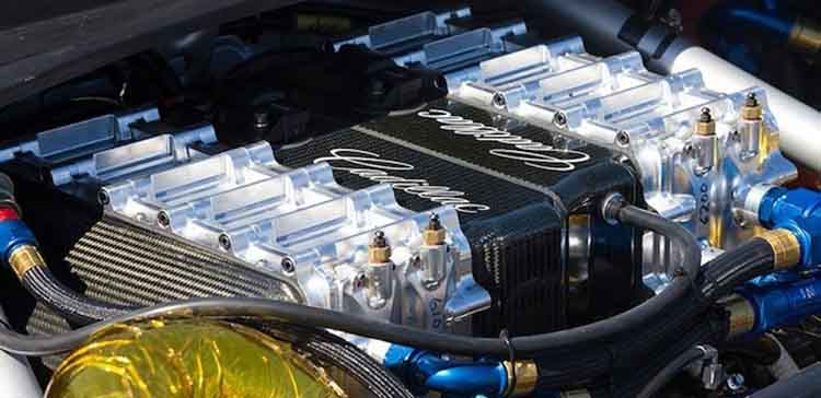 2019 Cadillac XT9 engine