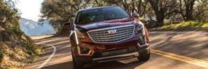 2019 Cadillac XT9 front