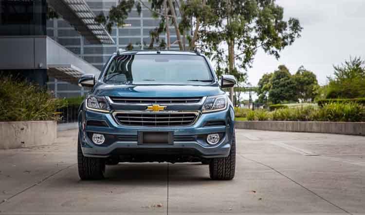 2019 Chevrolet Trailblazer front