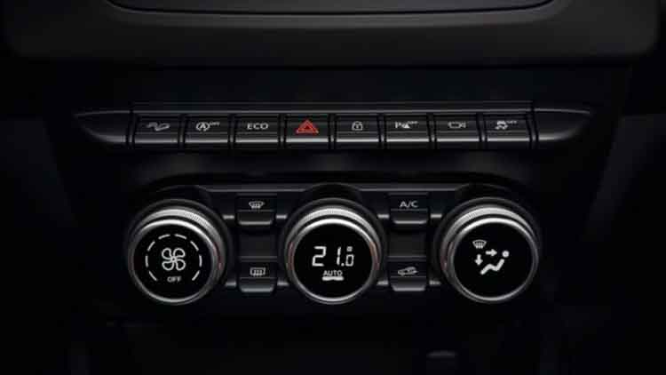 2019 Dacia Duster dashboard