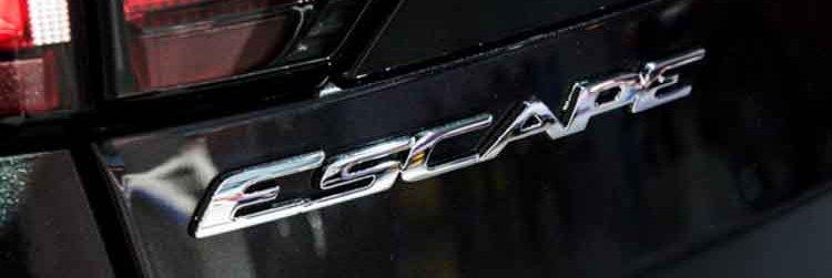 2019 Ford Escape badge