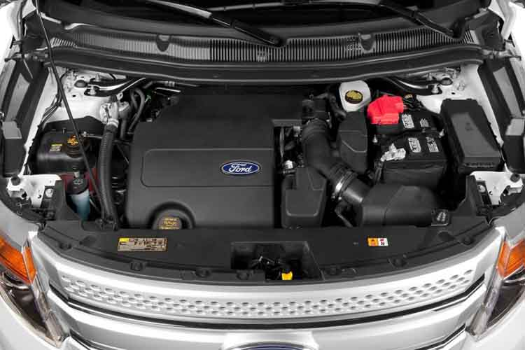 2019 Ford Explorer engine