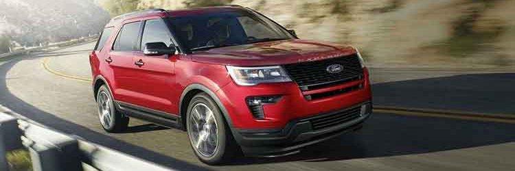 2019 Ford Explorer front