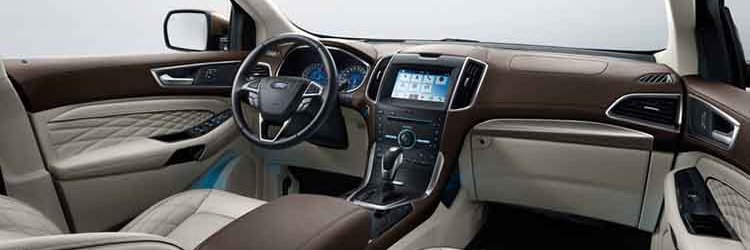 2019 Ford Territory interior